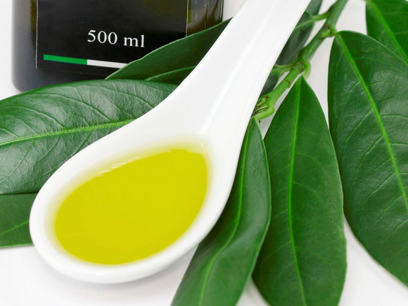 Olivenöl Saledda - Farbe
