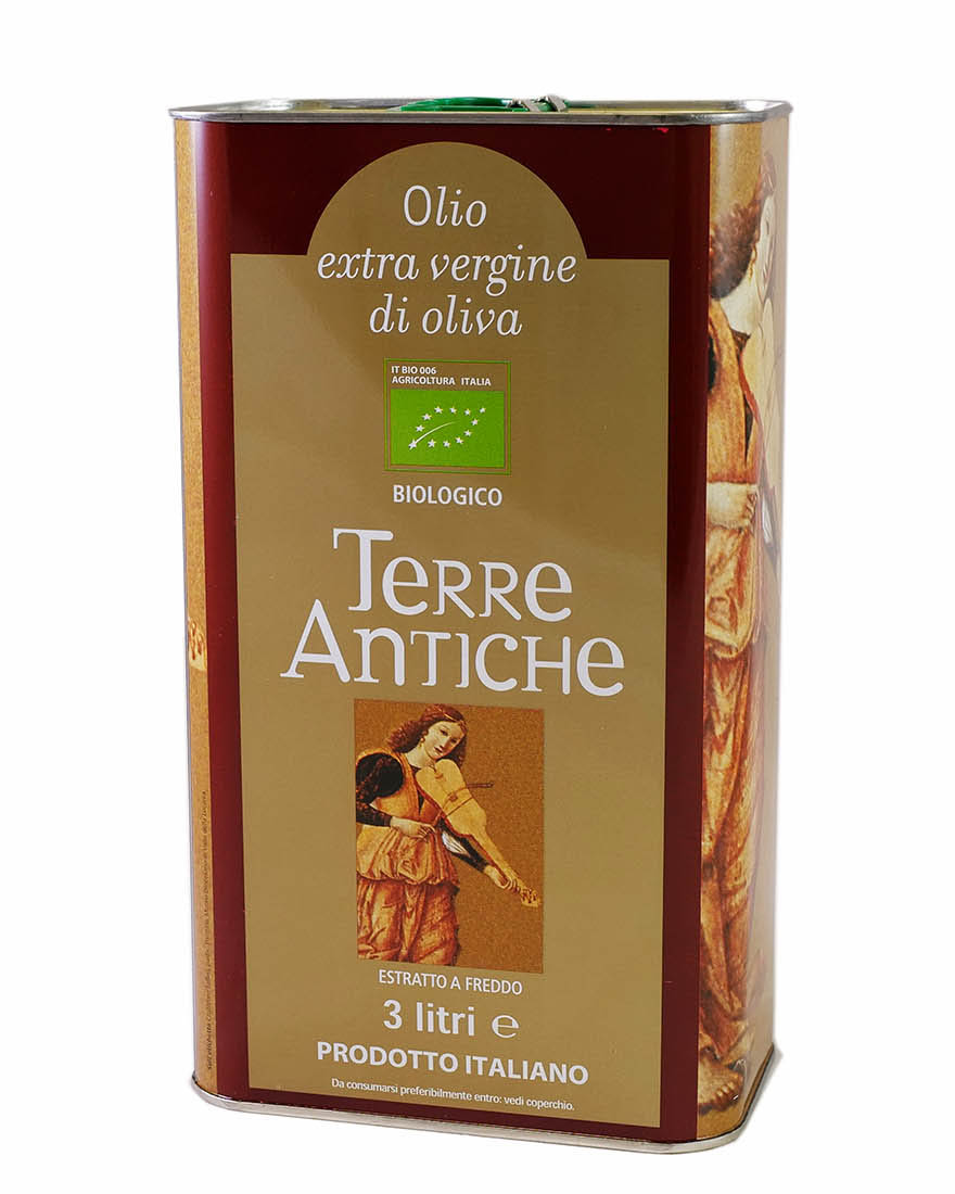 """3 l Bio-Olivenöl """"Terre Antiche"""""""