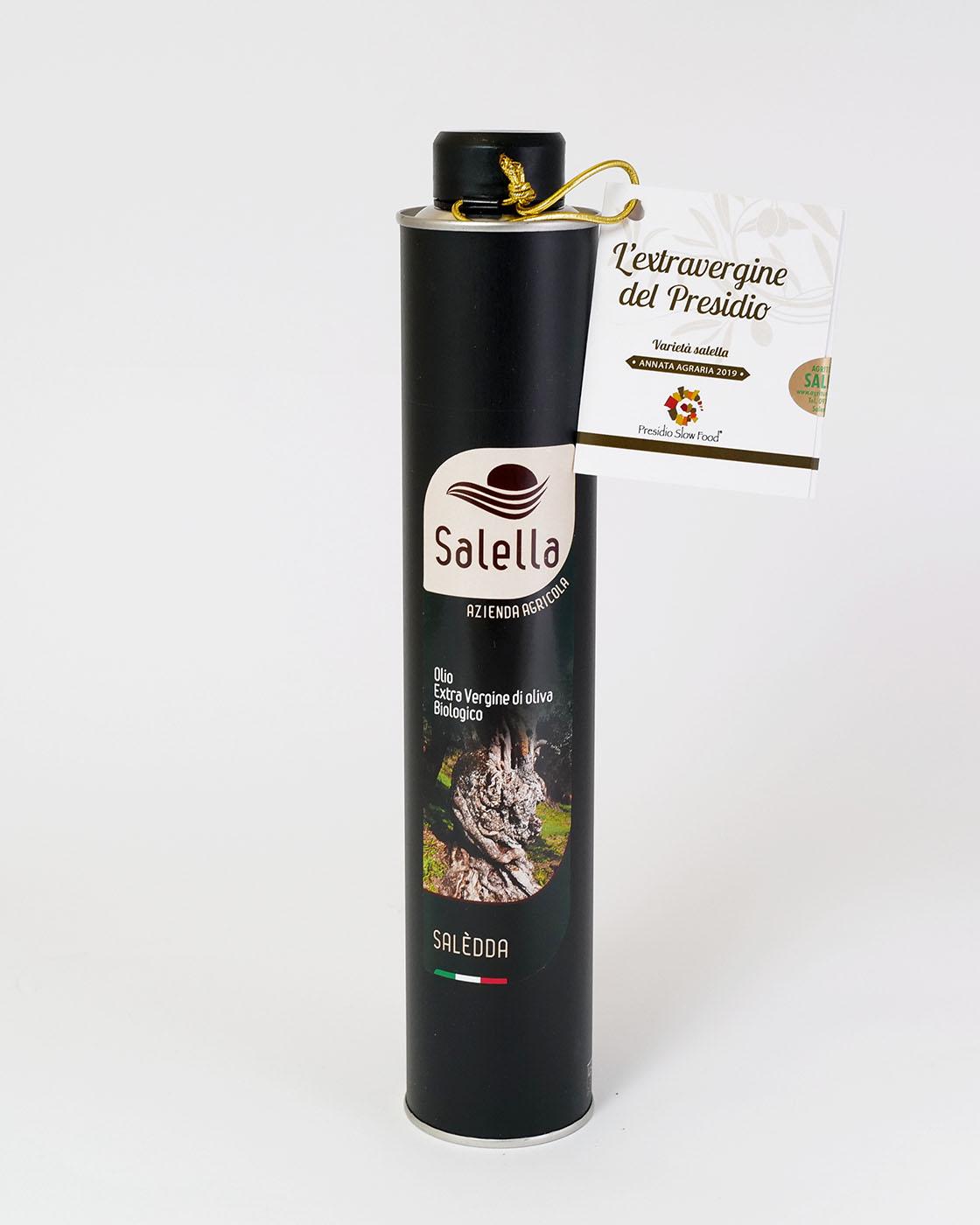 """0,5 l Bio-Olivenöl """"Saledda"""""""