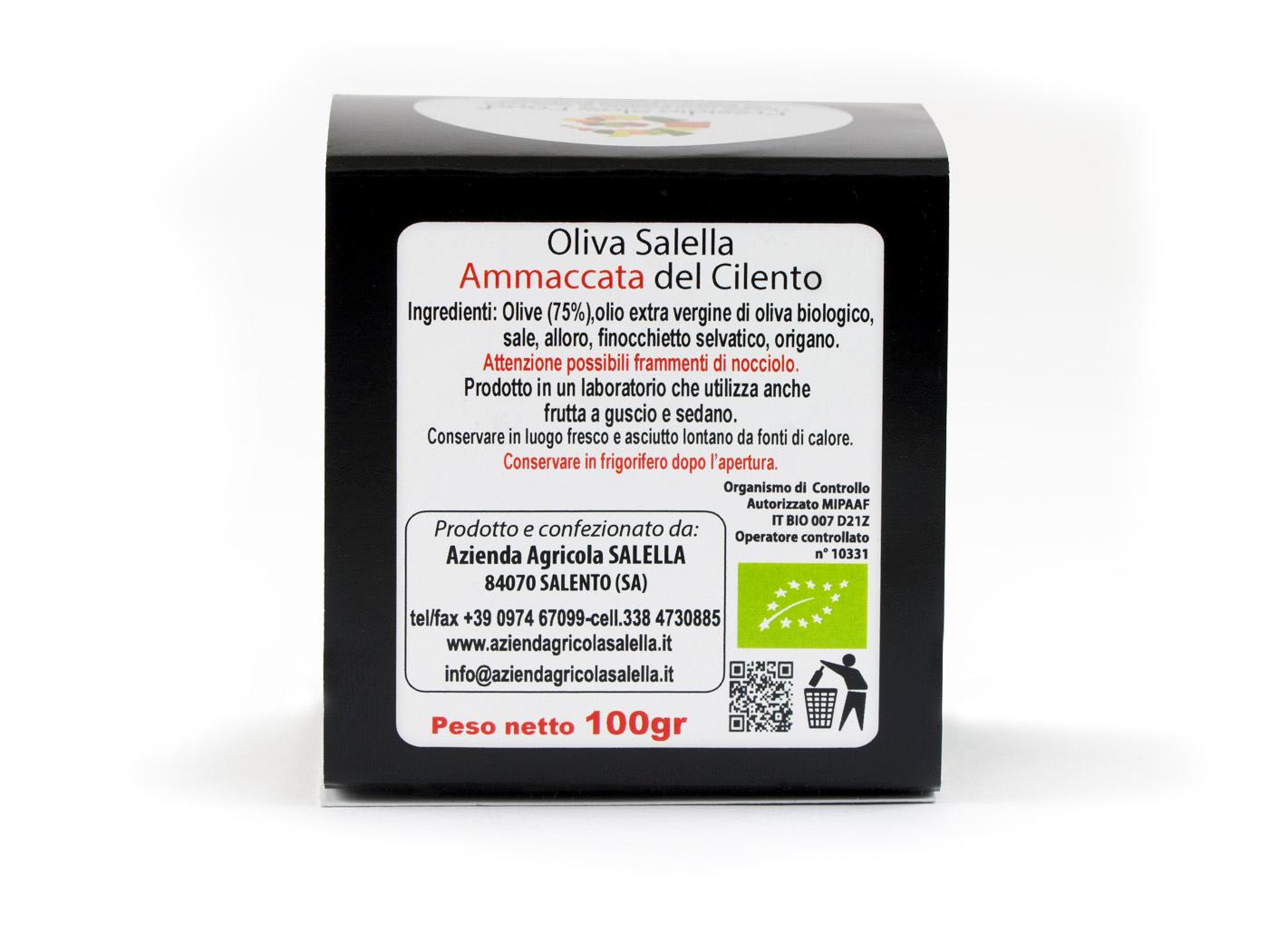 Oliva Salella Ammaccata del Cilento (Bio / Presidio Slow Food)
