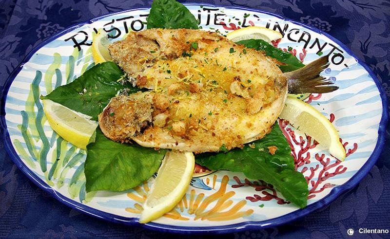 Filetto di pescato con zeste di sfusato amalfitano