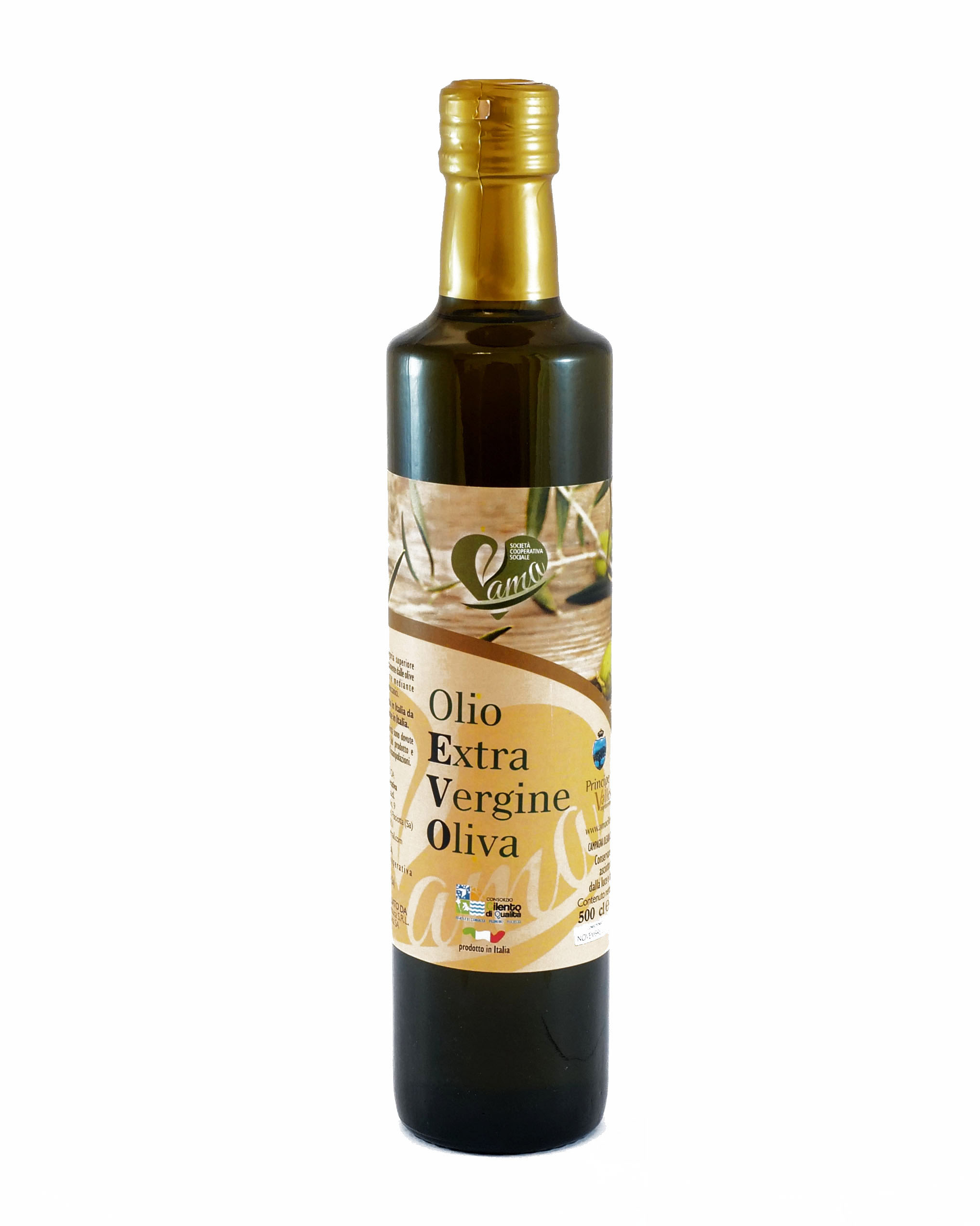 """0,5 l Olivenöl EVO """"Principe di Vallescura"""""""